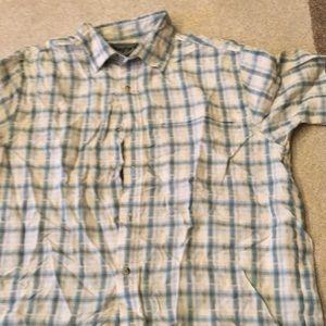 Woolrich short sleeve button up man